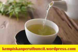 teh hijau bagus untuk kempiskan perut buncit lelaki wanita dan lelaki dalam 3 hari